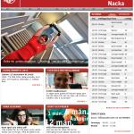 Friskis&Svettis Nackas gamla hemsida.